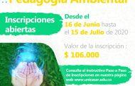 Abiertas inscripciones para Especialización en Pedagogía Ambiental en la UPC