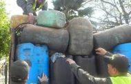Incautan 3.000 galones de combustible de contrabando en Barrancas (Guajira)