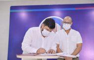 Firmados los convenios para garantizar matrícula cero en la UPC y respaldar a estudiantes de la UNAD