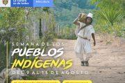 El Mincultura conmemorará la Semana de los Pueblos Indígenas