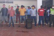 18 personas que violaban medida sanitaria en una gallera en zona rural de Chiriguaná fueron capturadas