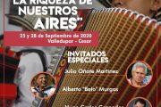 """Este viernes, Comfacesar realizará conversatorio """"Los cuatro aires del vallenato"""""""