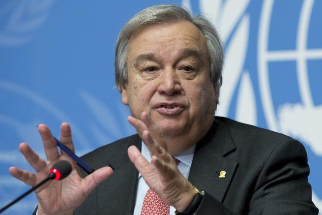El jefe de la ONU impulsará un alto el fuego global para enfrentar la pandemia