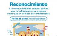 Estímulos a instancias gubernamentales que reinventaron la oferta cultural durante la emergencia