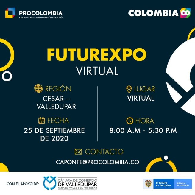 Futurexpo virtual 2020 – Cesar, para internacionalizar su empresa