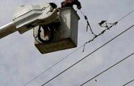 Vendaval afectó servicio de energía en varias poblaciones del Cesar