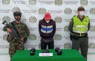 Capturado en Aguachica con más de 2 mil dosis de cocaína