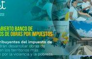 Abren banco de proyectos de Obras por Impuestos para desarrollar inversiones de impacto en territorios vulnerables