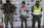 Capturan a sindicado de acceso carnal violento agravado en el sur del Cesar