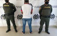 En Becerril, capturado por los delitos de homicidio y concierto para delinquir