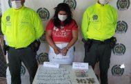 Con más de 354 dosis de marihuana fue capturada una mujer en Bosconia