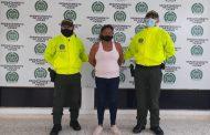 Mujer fue capturada por el delito de tráfico de estupefacientes