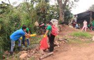 Campesinos de San José de Oriente recibieron apoyo por presencia de caracol africano