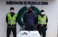 En La Loma, capturado venezolano dentro de una vivienda con arma de fuego