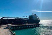 Desde Puerto Bolívar, Cerrejón despachó el primer buque, tras poner fin de la huelga