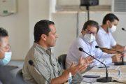 Sellado compromiso para beneficiar a sectores productivos y apoyar revolución del agua en Cesar