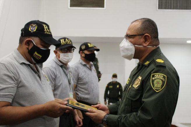 Entregan reconocimiento a la Policía Cívica de Mayores, la Red de Aliados y líderes comunales de Valledupar