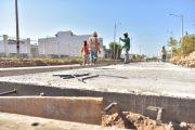 En un 50 % en construcción en la vía 'La Trochita' en Valledupar