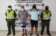 Dos hombres capturados por el delito de homicidio