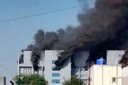 Incendio en sede del mayor fabricante de vacunas del mundo en la  India