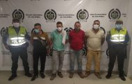 Con ganado hurtado, capturadas cuatro personas en zona rural de Becerril