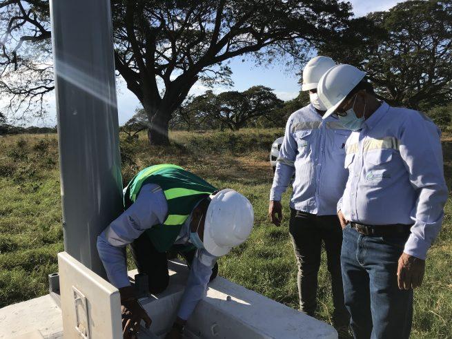 Para monitorear la calidad del agua en la cuenca baja del río Guatapurí, instalan segunda estación automática