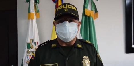 Comandante de Policía Cesar presentó informe sobre la situación delictiva en el Departamento