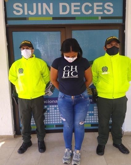 """Detenida en Valledupar, integrante de """"Los Buggi"""""""