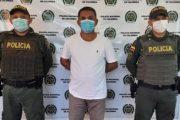 En el sur del Cesar, capturado presunto homicida