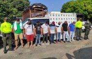 """Desarticulada banda """"Los Mopri"""", dedicada a la piratería terrestre"""