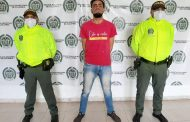 Capturan a uno de los buscados en el Cesar y le dieron casa por cárcel