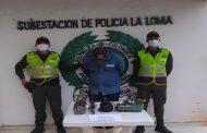 Por robo a entidad bancaria capturan a un hombre en La Loma, Cesar