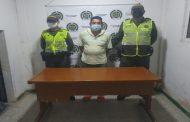 Capturado por orden judicial, sindicado de actos sexuales con menor de 14 años