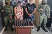 Capturados en el Cesar dos sujetos que transportaban 15 paquetes de clorhidrato de cocaína