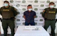 En hechos aislados, dos capturados por porte ilegal de arma de fuego