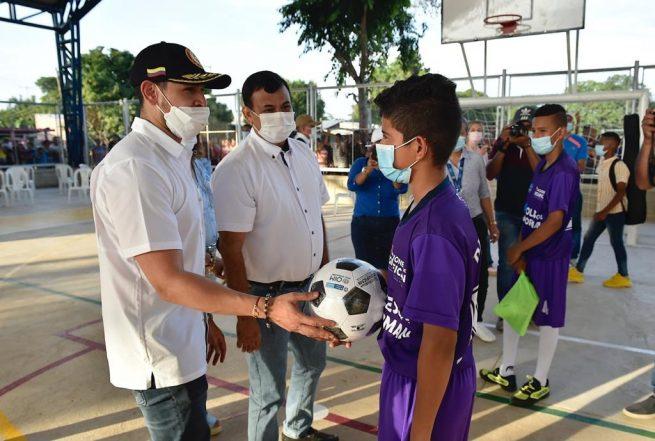 MinInterior entregó un Sacúdete Centro de Integración Ciudadana en Chimichagua, Cesar