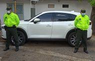 En Valledupar, personal de la Sijín recuperó dos vehículos
