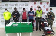 Capturados dos presuntos integrantes de grupo delincuencial EPL en el Cesar