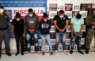 Privados de la libertad 11 presuntos integrantes de la 'Red de la Grande', dedicados a la extorsión en Valledupar