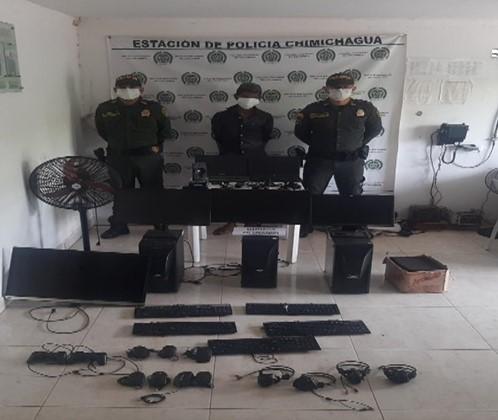 En Chimichuagua, capturan a hombre con elementos hurtados
