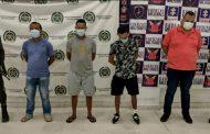 A la cárcel cuatro presuntos integrantes de Los Pachenca en La Guajira