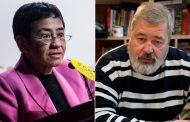Los periodistas Maria Ressa y Dimitri Muratov comparten el Premio Nobel de la Paz 2021