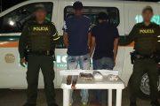 Capturadas tres personas con estupefacientes camuflados en sus equipajes