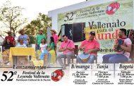 Comienza ciclo de lanzamiento del 52° Festival de la Leyenda Vallenata