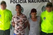 Madre e hijo, capturados por expendedores de estupefacientes en Bosconia