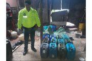 Policía destruyó laboratorio para el procesamiento de cocaína