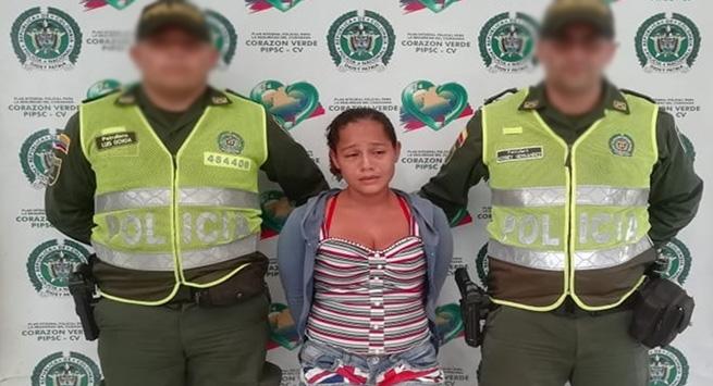 Capturada una mujer con circular azul de la Interpol