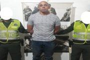 Capturado Poncho Zapata por el delito de concierto para delinquir