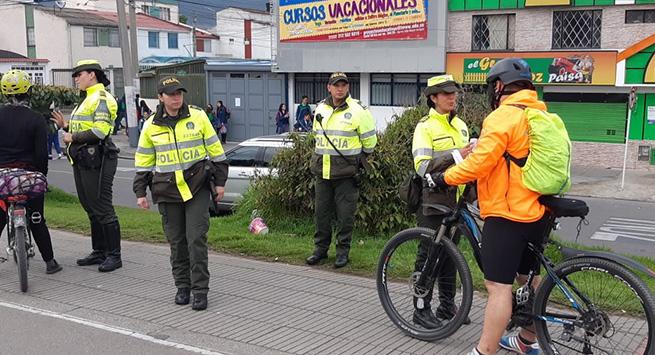 En los cinco primeros meses de 2019, murieron en Colombia 168 ciclistas