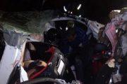 Al menos 17 muertos en un accidente vial en el sudeste de Brasil